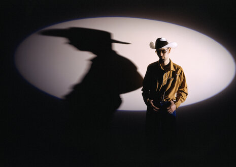 Cowboy in Spotlight - PM00296