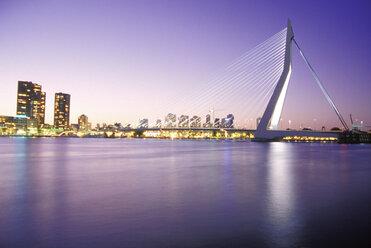Erasmusbridge, Rotterdam, South-Holland, Netherlands - 01050MS