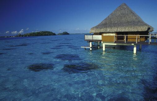 Bungalows, Beachcomber Hotel, Bora Bora, French Polynesia - 00195GN