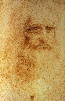 Selfportrait, Leonardo da Vinci - 00118NC