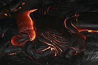 hawaii - pahoehoe lava at night - RM00054