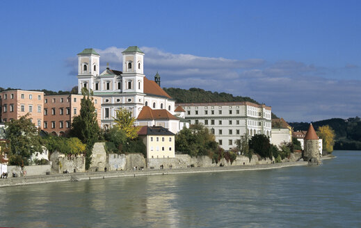 Studienkirche in Passau, Bavarian Forest, Germany - HSF00929