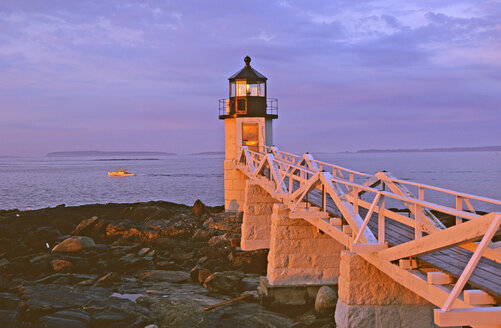 USA; Lighthouse of Port Clyde;Maine - HS00883