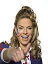 American female sports fan - LMF00113