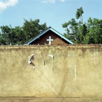 Wall in front of Church - PM00330