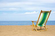 Deckchair at beach - LDF00121