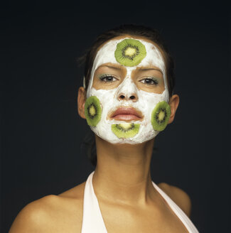 Woman with face mask - JLF00093