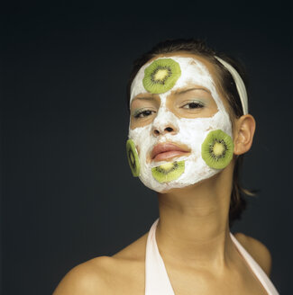Woman with face mask - JLF00059