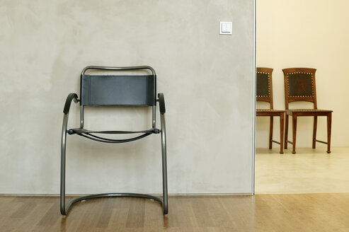 Chairs in waiting room - BMF00230