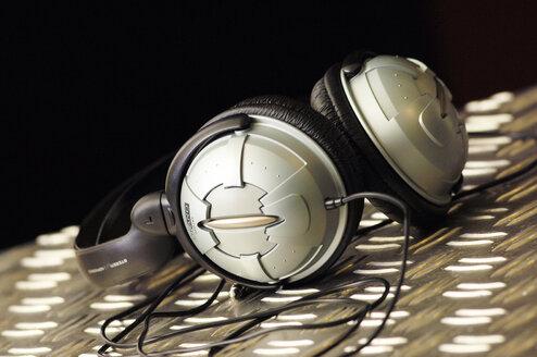 Headphones, close-up - LRF00024