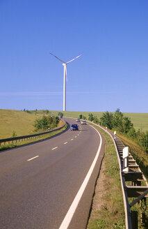 Germany, Thuringia, Altenburg, Wind tubine - MS01694