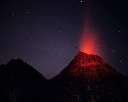 Hawaii, Bigil Island, volcano - RM00074