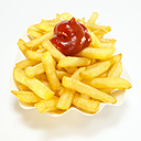 French fries with ketchup - WESTF00401