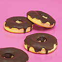 Doughnuts with chocolate icing - WESTF00395
