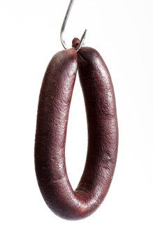 Blood sausage on butcher´s hook - 03324CS-U