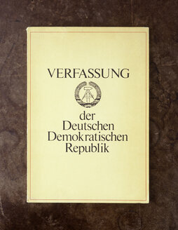 Constitution of the German Democratic Republic - TH00247