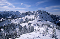 Germany, Bavaria, Scheibenwand, snow covered mountains - FFF00687