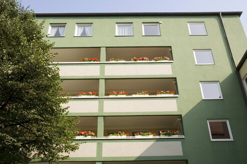 Building exterior, low angle view - MB00581
