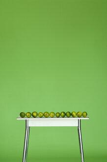Limes on table - ASF02398
