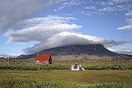 Iceland, Highlands, shield volcano Herthubreith - UM00154