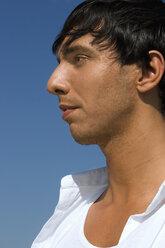 Young man , portrait, side view - LDF00206