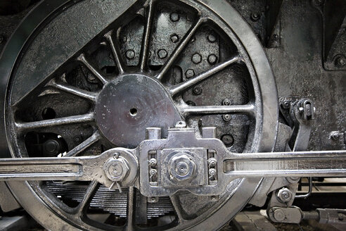 Train wheel, close-up - KS00026