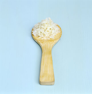 Cooked rice on wooden spoon - COF00041