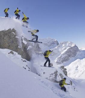 Switzerland, St. Moritz, skier jumping - FFF00695