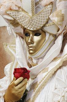 Italy, Venice, masked person - 00194LR-U