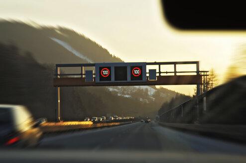 Austria, Tyrol, Klagenfurt, Inntal motorway - MBF00609