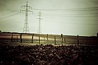 Power poles in landscape - DW00039