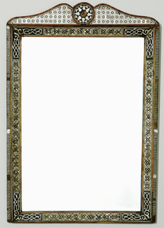 Picture frame with marqueteries - KMF00705