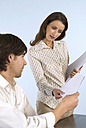 Man and woman in office - WESTF04799