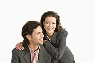 Businessman and businesswoman - WESTF04688