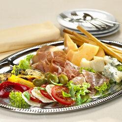 Antipasti on plate - CHKF00366