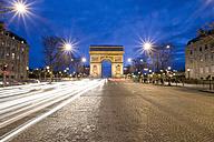 France, Paris, Arc de Triomphe, Charles de Gaulle square - MSF02040
