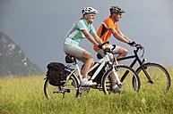Couple on a bike trip - MRF00887