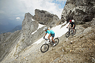 Mountain bikers on the way - MRF00875
