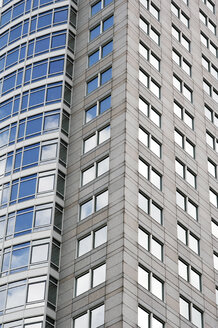 Tower block with glass front - 00268LR-U