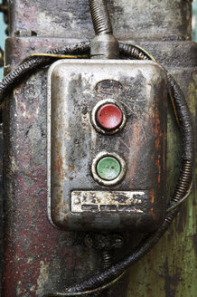 On/off switch, close-up - THF00591