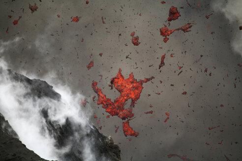 Vanuatu, Volcano eruption - RM00137