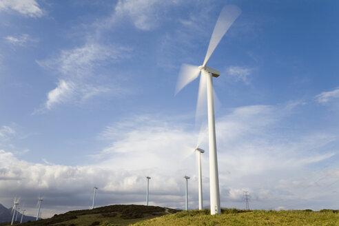 Germany, Bavaria, wind wheels - MSF02094