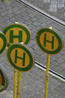 German Bus Stop Signs - TL00131