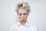 Annoyed woman, portrait - TCF00208