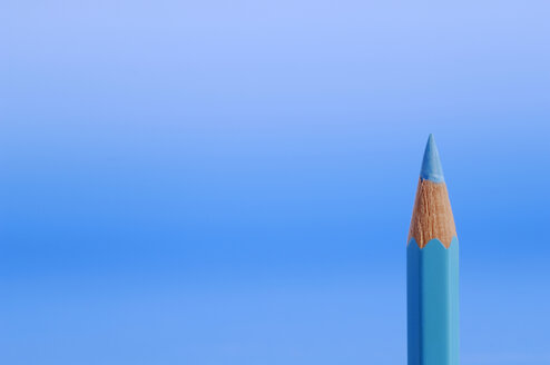 Blue pencil close-up - AS03441