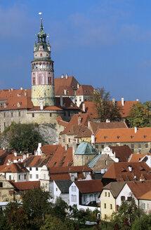 Czech Republic, view to Castle Cesky Krumlov - HS01014