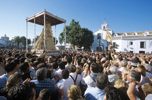Spain, Andalusia, El Rocio, pilgrimage - HS01005