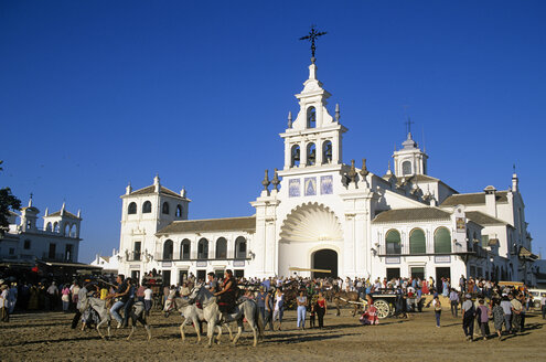 Spain, Andalusia, El Rocio, pilgrimage - HS01002