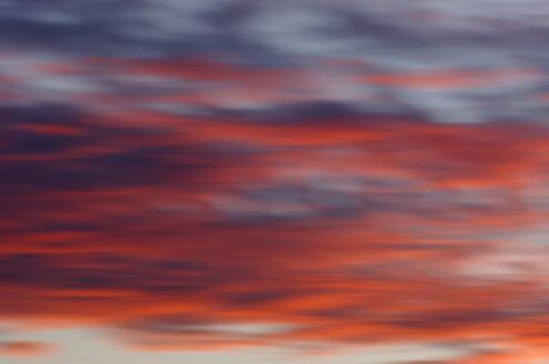 Clouds in sky at sun rise - SMF00190