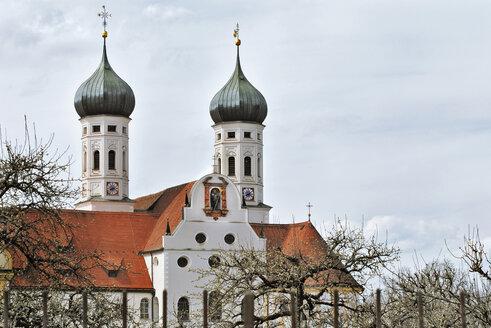 Germany, Bavaria, Bendiktbeuren, Benedictine Monastry - MB00751